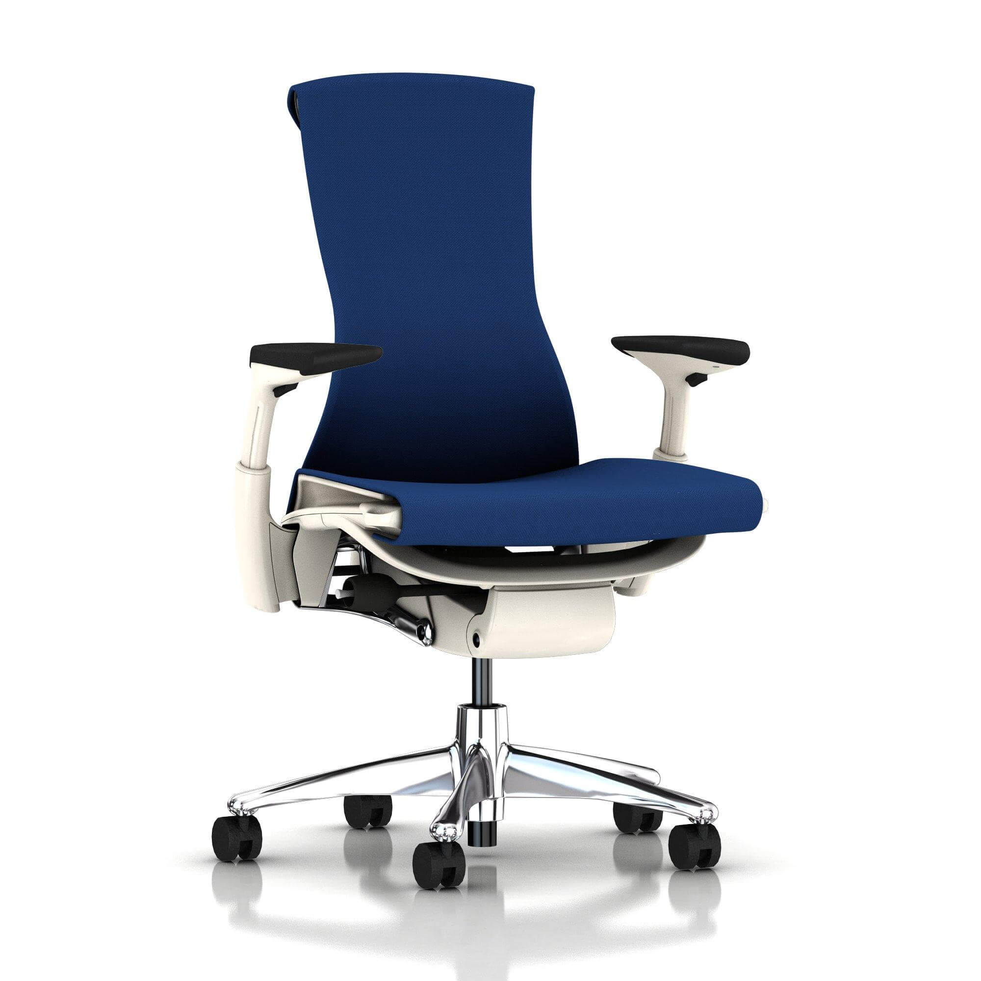 Der Embody Chair in Berry blau