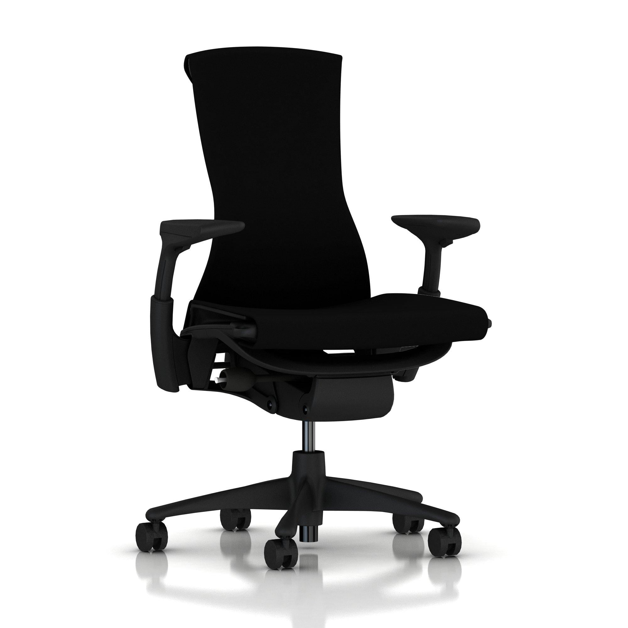 Der Embody chair in schwarz
