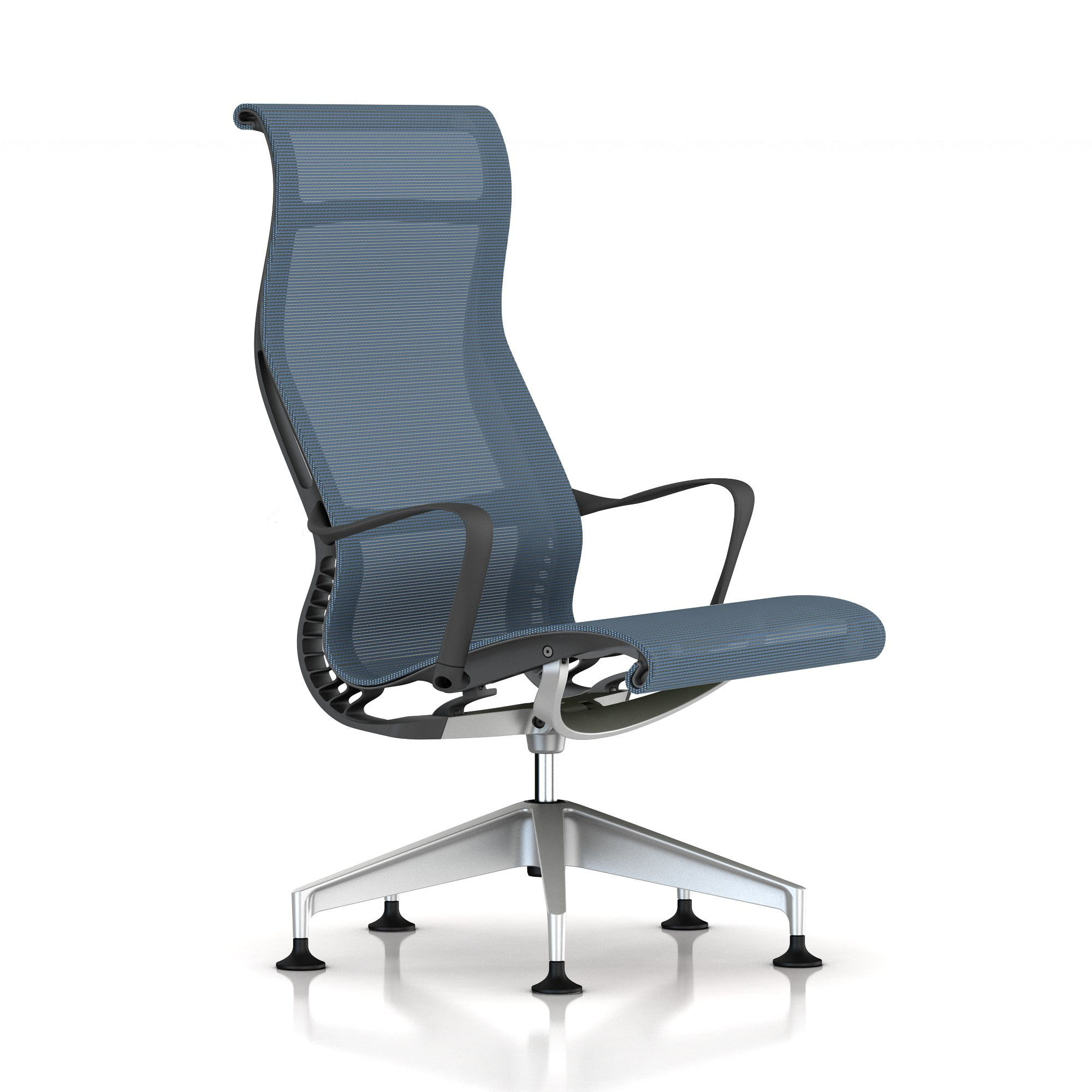 Setu Lounge Chair in blau