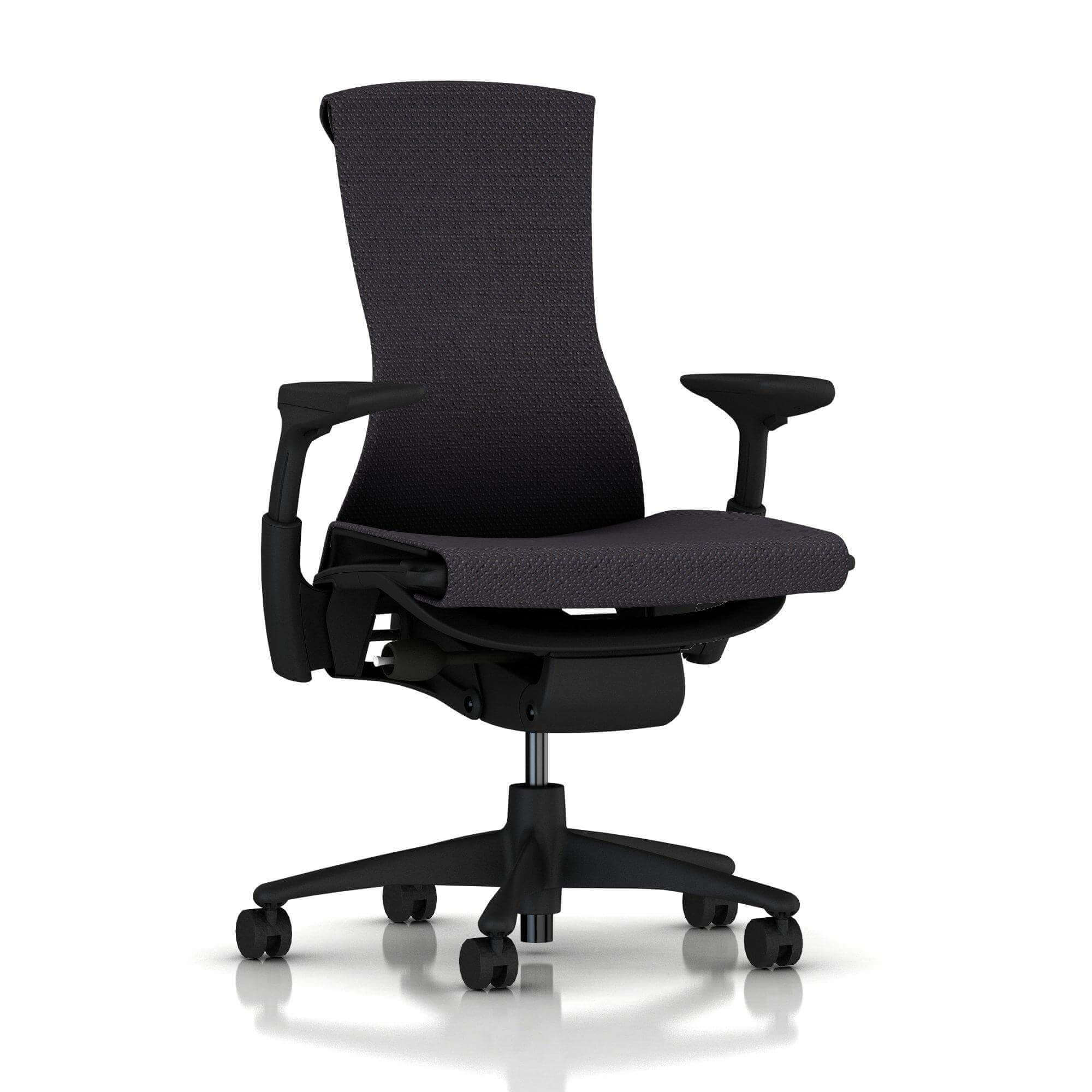 der Embody Chair in der Farbe charcoal
