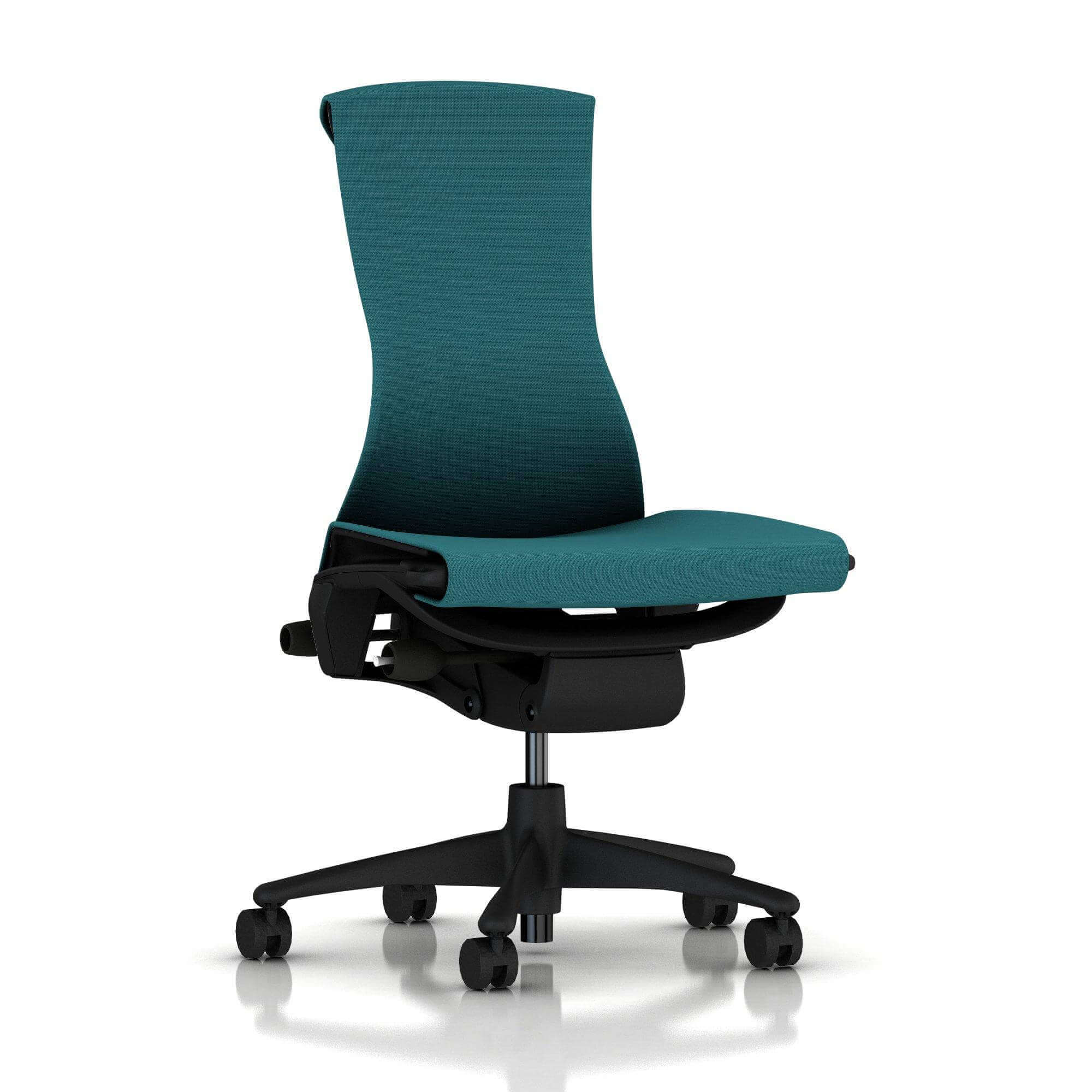 der Embody Chair in Graphite/Peacock